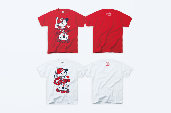 HIROSHIMA PARCO × CARP COLLABORATION T-SHIRT