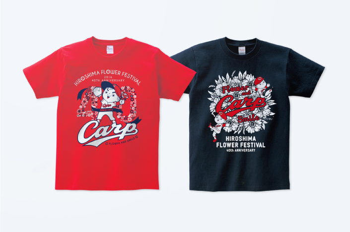 2016 HIROSHIMA FLOWER FESTIVAL × CARP COLLABORATION GOODS