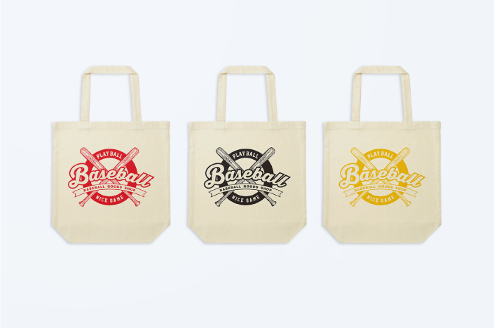 BASEBALL GOODS SHOP TOTE BAG
