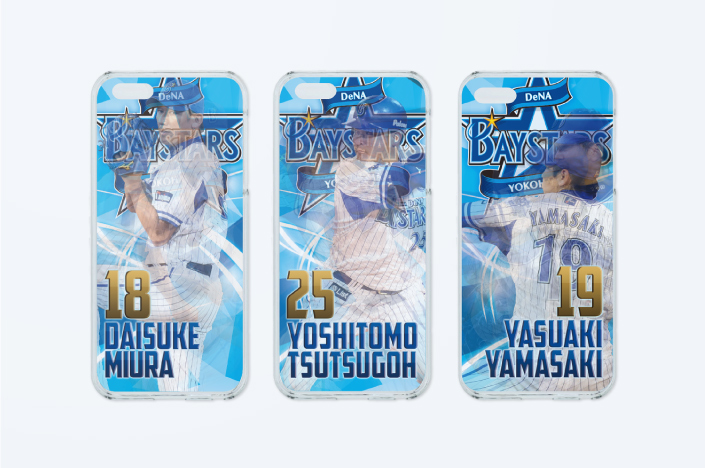 BAYSTARS LENTICULAR iPhone CASE