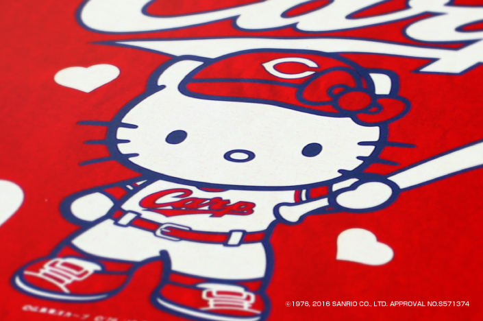 HELLO KITTY × CARP COLLABORATION GOODS