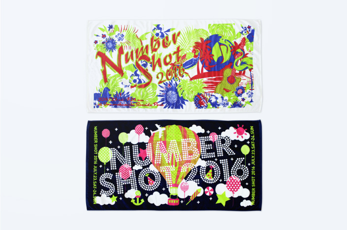 NUMBER SHOT 2016 OFFICIAL GOODS