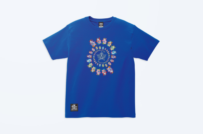 BAYSTARS COLORFUL DB.STARMAN T-SHIRT