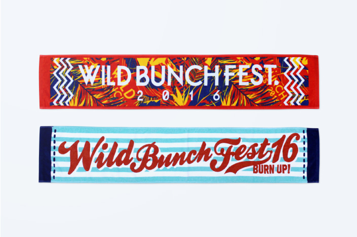 WILD BUNCH FEST. 2016 OFFICIAL GOODS 01