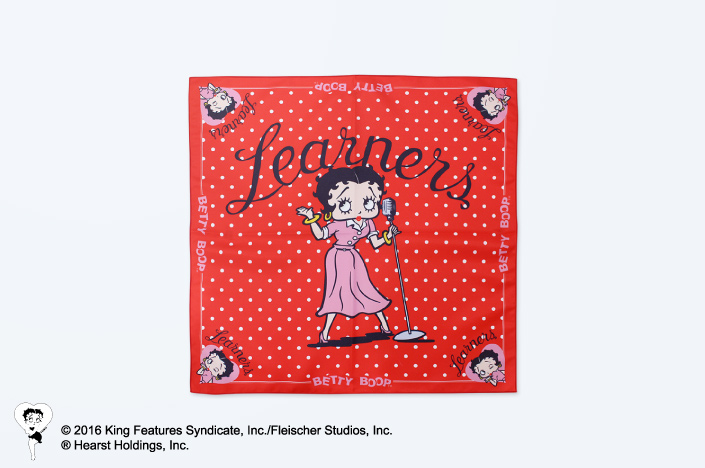 Betty Boop™ × LEARNERS COLLABORATION GOODS