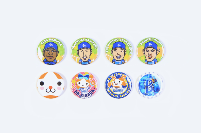 BAYSTARS BADGE 2017